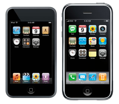 iPod Touch vs iPhone